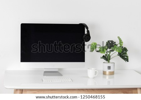 Business office environment #1250468155