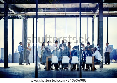 Business Organization People Working Togetherness Meeting Concepts