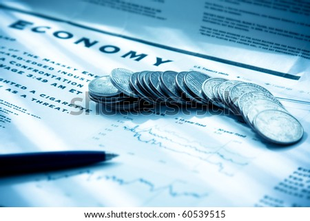 business paper - stock photo