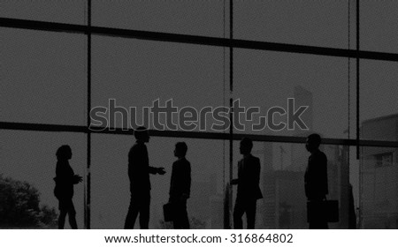 Business People Colleagues Communication Discussion Concept #316864802