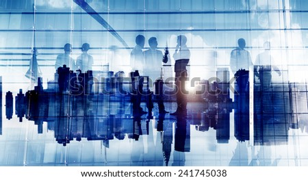 Business People Communication Corporate Office Discussion Planning Concept