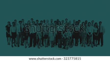 Business People Community Organization Team Concept #323775815