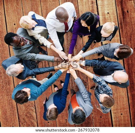 Business People Cooperation Coworker Team Concept #267932078