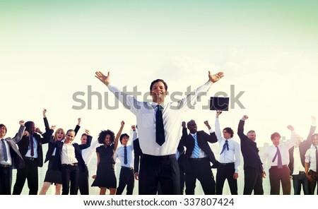 Business People Corporate Success Concept