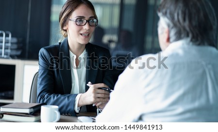 Business people discussion advisor concept Stock photo ©