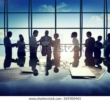 Business People Discussion Ideas Planning Teamwork Concept Stock foto ©