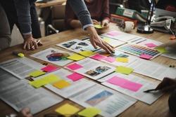 Business People Diverse Brainstorm Meeting Concept