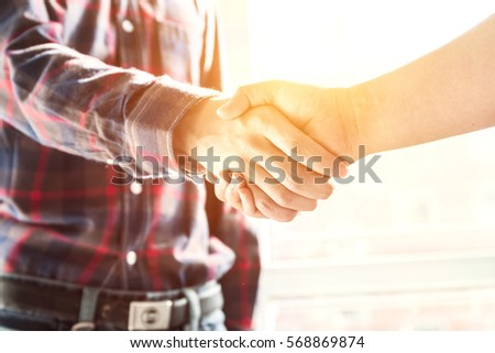 business people handshaking #568869874