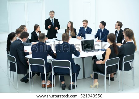 Business people in a conference room. #521943550