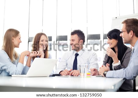 Business people meeting.
