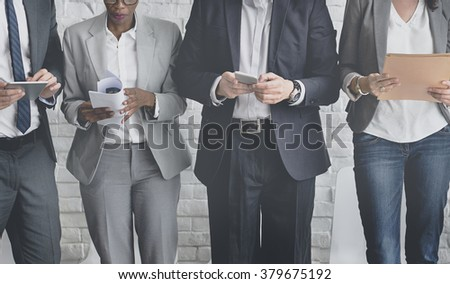 Shutterstock Business People Meeting Corporate Digital Device Connection Concept