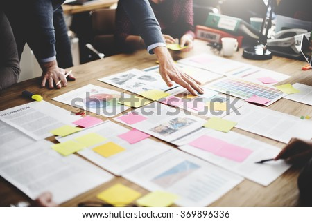 Shutterstock Business People Meeting Design Ideas Concept