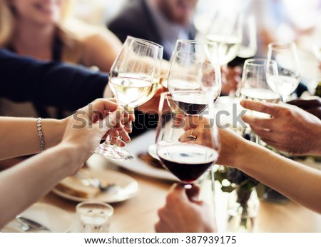 Business People Party Celebration Success Concept #387939175