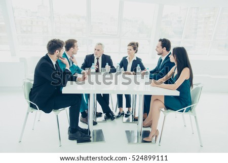 Business people planning future strategy of company growth #524899111