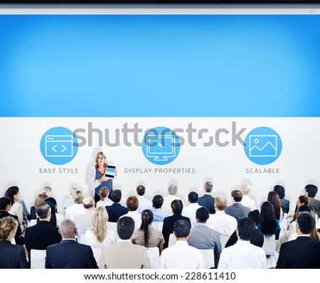 Business People Seminar Learning Concept