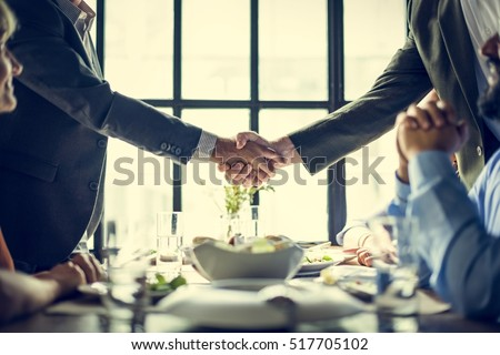 Shutterstock Business People Shaking Hands Agreement Concept