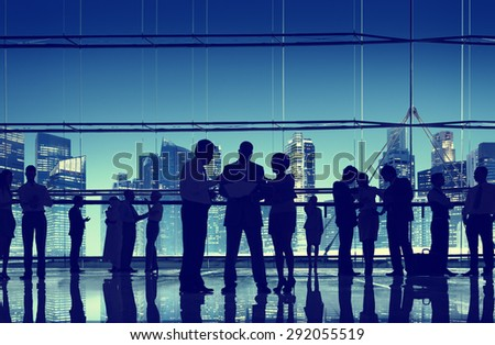 Shutterstock Business People Talking Conversation Communication Interaction Concept