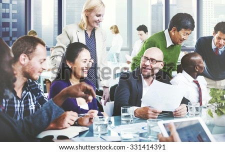 Business People Team Teamwork Cooperation Partnership Concept #331414391