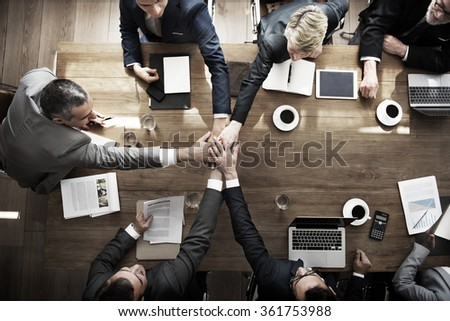Business People Teamwork Collaboration Relation Concept