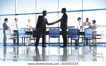 Business People Working Working Corporate Concept #365047214