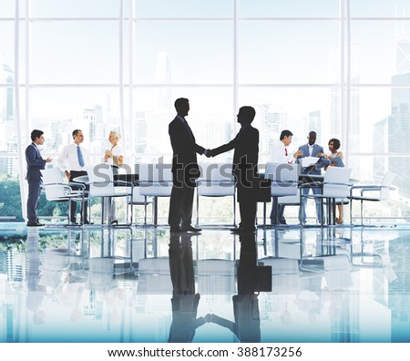 Business People Working Working Corporate Concept #388173256