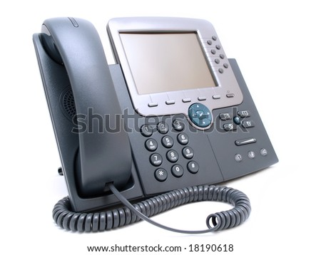 Business phone - stock photo