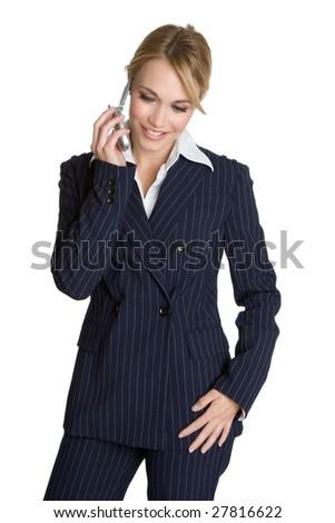Business Phone Woman