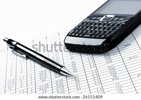 business, planing - stock photo