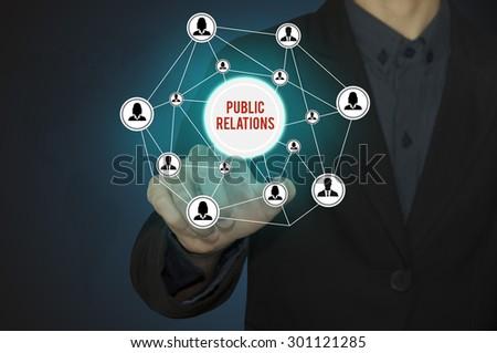 Business present title public relations.