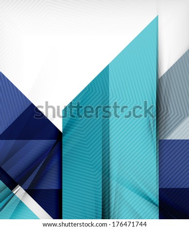 Business presentation stripes abstract background. For infographics, business backgrounds, technology templates, business cards. Raster version