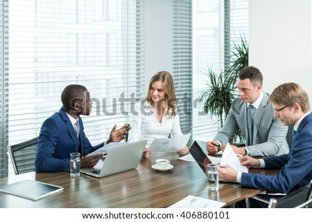 Business professional in office