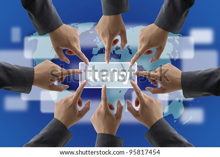 Business Quality Teamwork Concept