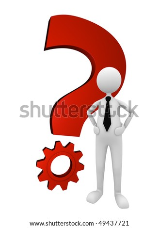 Business Question and Solution; great for question, solution and business concepts.