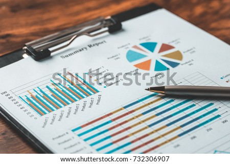 business report plan put on the ...