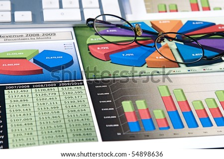 Business strategy organizational charts and graphs