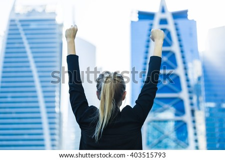 business success   celebrating...