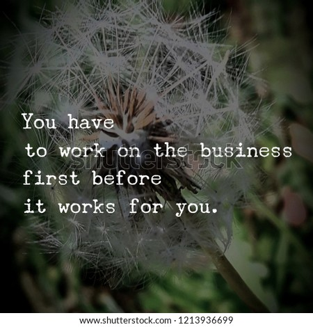BUSINESS SUCCESS QUOTES #1213936699