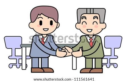 Business talk establishment