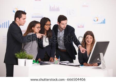 business team #666504406