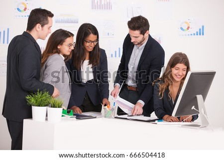 business team #666504418