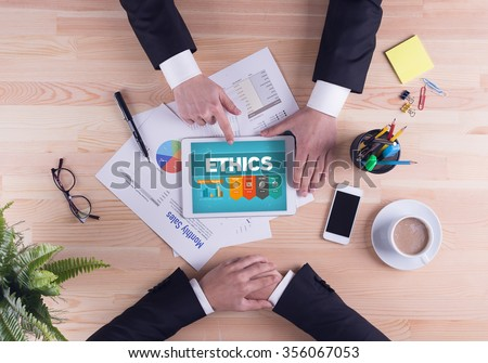 Business team concept - ETHICS #356067053