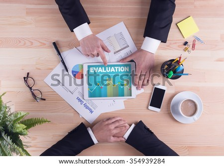 Business team concept - EVALUATION #354939284