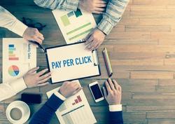 Business Team Concept: PAY PER CLICK