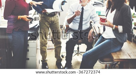 Business Team Working Office Worker Concept #367272374