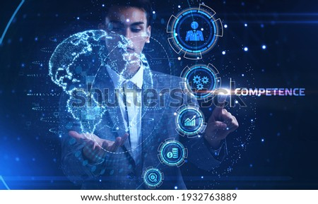 Business, Technology, Internet and network concept. Competence Skill Personal development. Stock photo ©