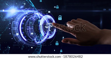 Business, Technology, Internet and network concept. Labor Law Lawyer Legal. Foto d'archivio ©