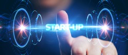 Business, Technology, Internet and network concept. Start-up funding crowdfunding investment venture capital. Entrepreneurship.