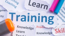Business Training banner,Training for learn,skill,productivity,capacity building,knowledge,development