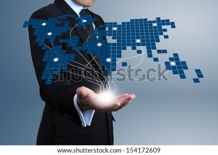 Business with Expansion on screen.