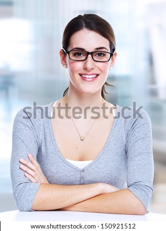 Business woman. Accounting service background.